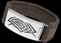 Men's Bracelets - Leather and Sterling Silver Bracelets