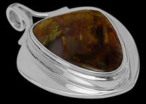 Men's Jewelry - Gemstone and Sterling Silver Pendants