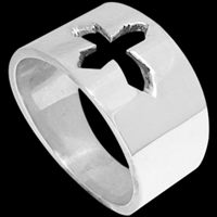 Religious Jewelry - Sterling Silver Rings